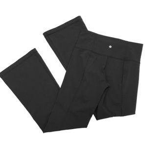 LuluLemon Groove Flare Pants in Black